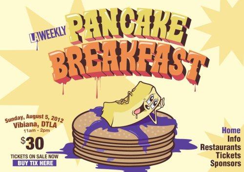 2nd Annual Pancake Breakfast