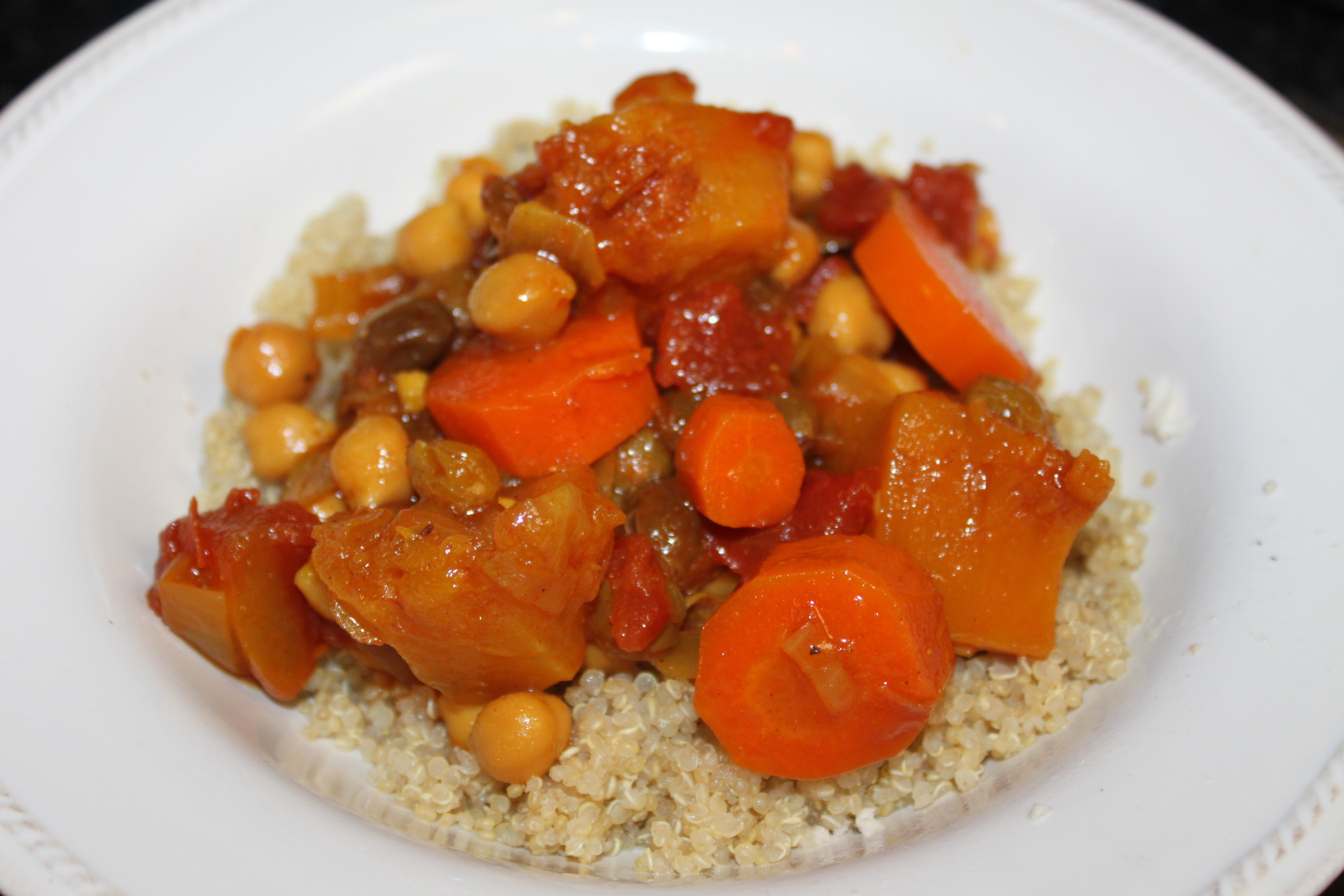 and moroccan chickpea stew with butternut squash chickpea like i ...