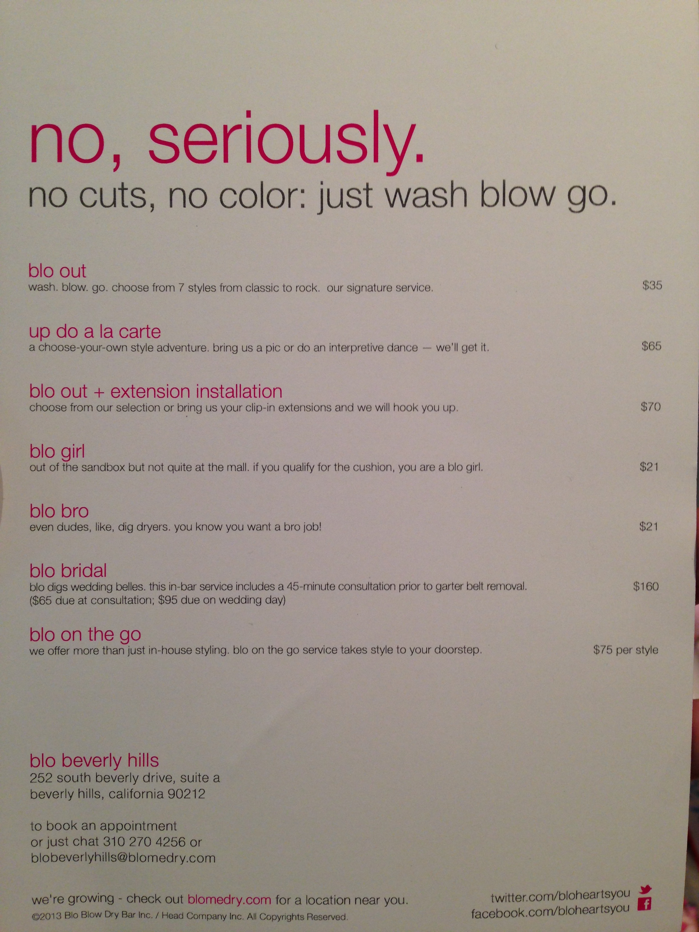 blo beverly hills (the new blow dry bar) – meaningful nonsense