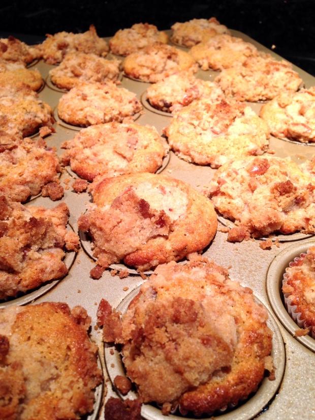 Pretzel muffins